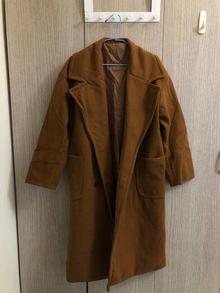 韓國羊毛大衣