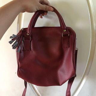 flicka slingbag maroon