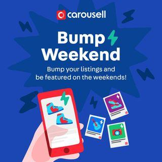 Bump Weekend (Bump and be featured on the weekends!)