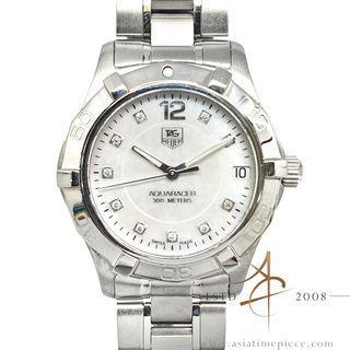 Tag Heuer Aquaracer WAF1312 Diamond Mother of Pearl Quartz