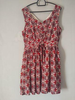 Dress Merah / Dress Cantik