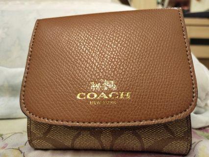 Coach短皮夾