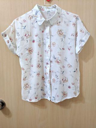 氣質花襯衫