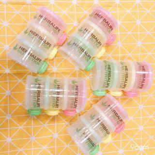 蛋白粉側開三層分裝罐 奶粉外出罐 奶粉分裝盒 奶昔分裝罐