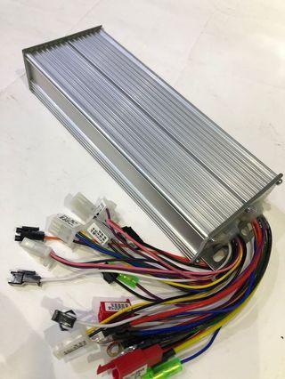 New 48v~72v1500w45a 18 tube controller