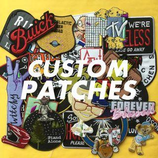 🆕🎁Making personalized patch for you,Embroidered iron on ✂[PREORDER]Customised Product - Delivery In 2 weeks +, EACH design - Min 20 pcs!