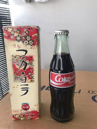 Japanese  Coke Bottle 190ML