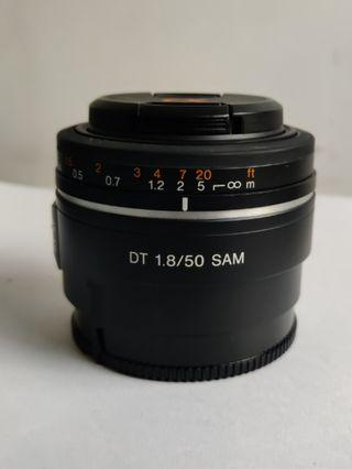 Sony 50mm F1.8 DT A-mount