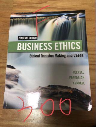 企業倫理課本Business Ethics