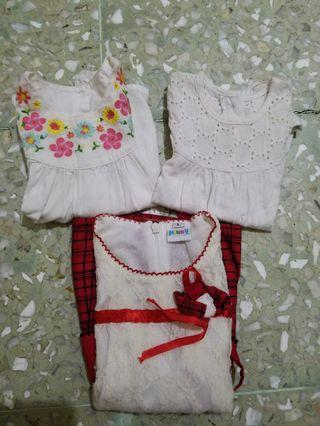 Preloves Baju Bayi Mothercare + Lace Dress
