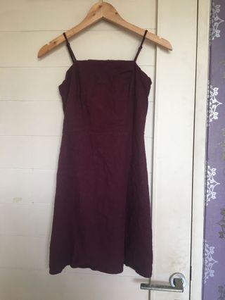 Cotton On Maroon mini Dress