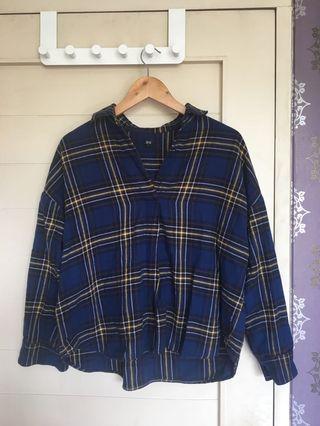 Uniqlo check shirt