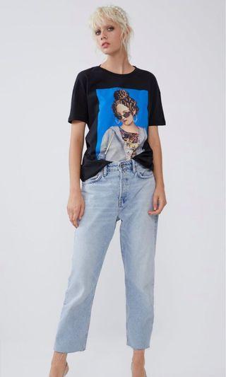 Zara Print Tshirt