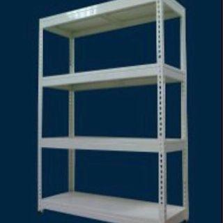 Storeroom Boltless Rack w/ Metal Shelves