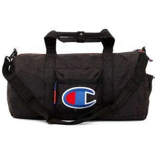 Champion Logo Embroidery Duffle Bag (Black)