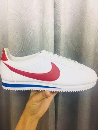 全新正品NIKE CLASSIC CORTEZ LEATHER 阿甘鞋女鞋