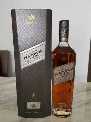 Johnnie Walker Platinum 18