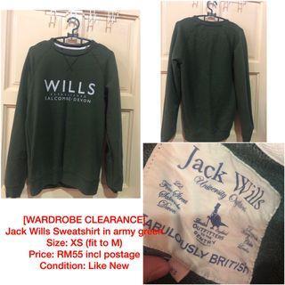 JACK WILLS SWEATSHIRT (FREE POSTAGE)