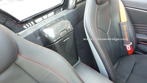 Mercedes interior carbon fiber
