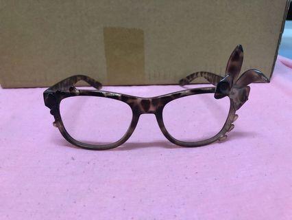 造型眼鏡 無鏡片