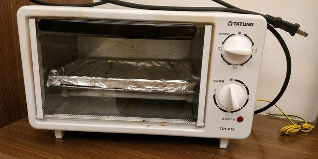 二手 大同烤箱 TOT-810  寬36 深20 高22 。8公升