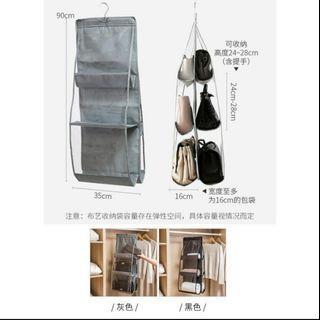 包包收納掛袋 灰色