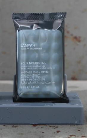ANYAH義大利有機天然香皂,5個/組