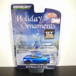 Nissan GT-R Holiday Ornaments Mijo Exclusive