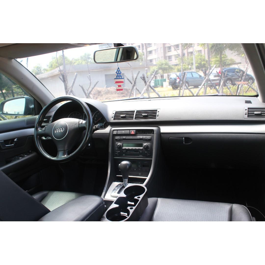 2004年 AUDI 奧迪 A4 車在桃園