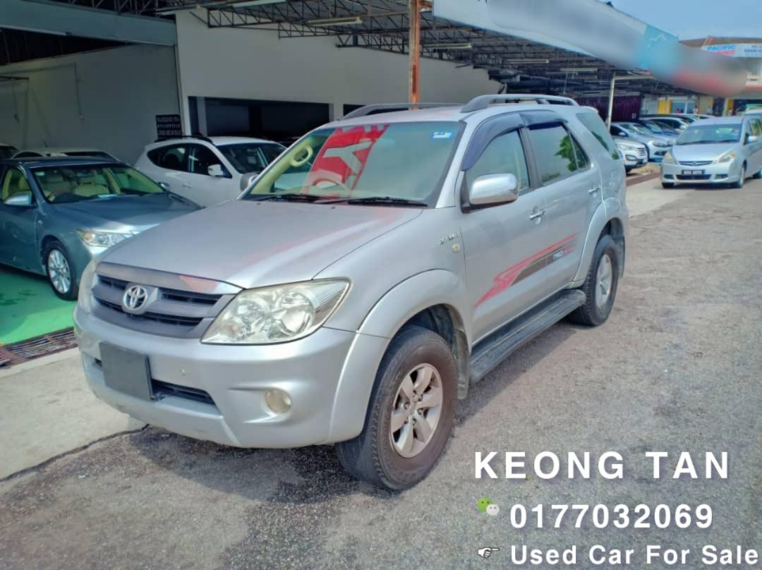 2005TH🚘TOYOTA FORTUNER 2.7AT PETROL Rm35,800 Cash💰OfferPrice‼ LowestPrice InJB🚘 Call 📲 Keong For More🤗