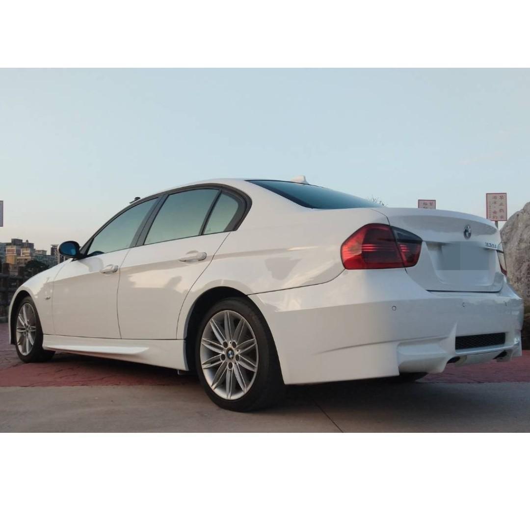 2006年 BMW  320d 白 車在桃園