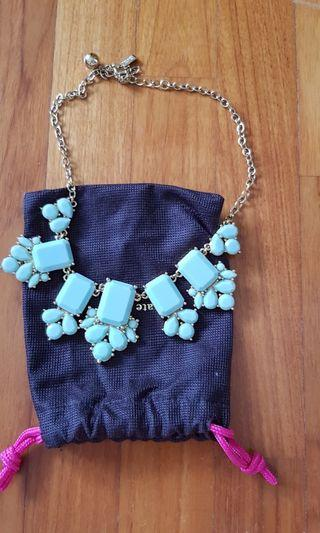 Kate Spade sweet baby blue necklace