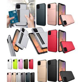 iPhone 11 / iPhone 11 Pro Max Card Slide Phone Case