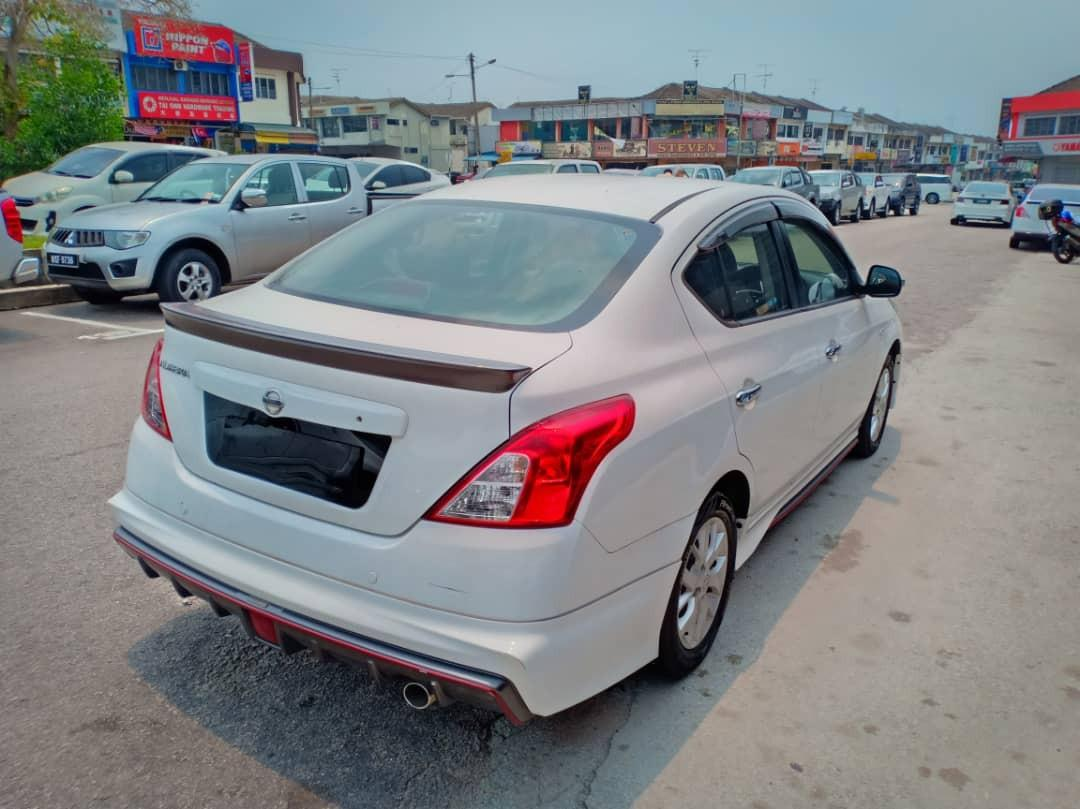 2015TH🚘NISSAN ALMERA 1.5AT VL  (NISMO)Full Bodykit/FACELIFT🚘H/LOAN JohorPlate/PushStart💰OfferPrice🎉Monthly Rm540 Only‼ LowestPrice InJB🤗Call📲Keong For More🎉