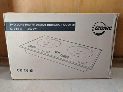 Double Induction Stove (Never Used)