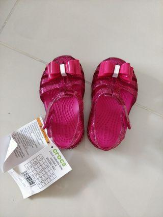 Crocs isabella bow for kids