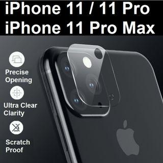 iPhone 11 / iPhone 11 Pro Max Camera Lens HD Protector