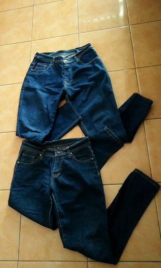 Take all 100k only get 2 jeans