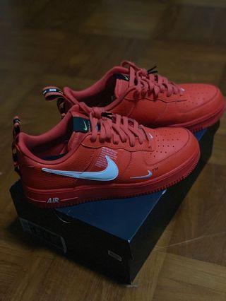 Nike Air force Overbranding