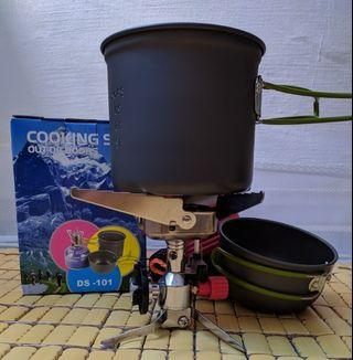 Reliable Camping Stove and Pot