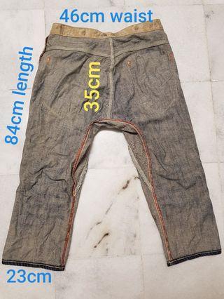 Edwin 503 cropped Jeans