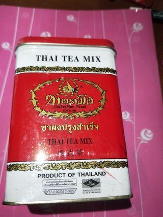 泰山手標茶罐含茶葉