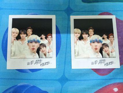 WTS MONSTA X official polaroid card