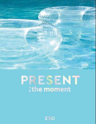 (Freegift  lanyard) EXO PHOTOBOOK; The Moment