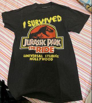 正版侏羅紀短袖T Shirt