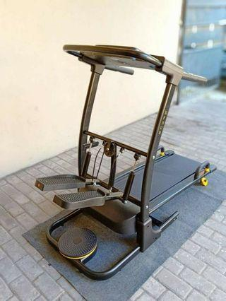 Treadmill Alat Fitness Alat Olahraga Manual Treadmill 4 Fungsi Fc 085