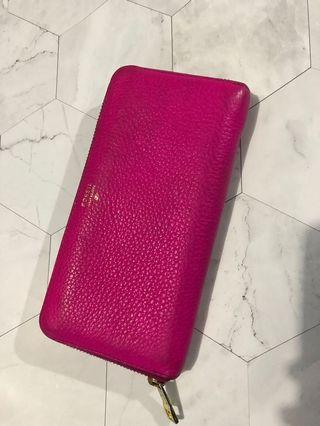 Dompet pink fossil original leather
