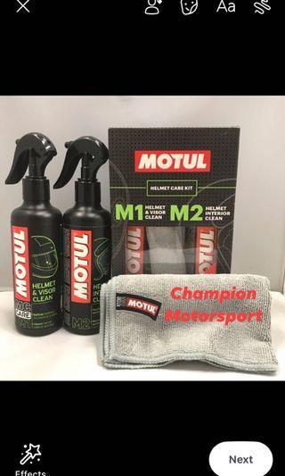 MOTUL M1 Helmet & Visor Clean + M2 Helmet Interior Clean