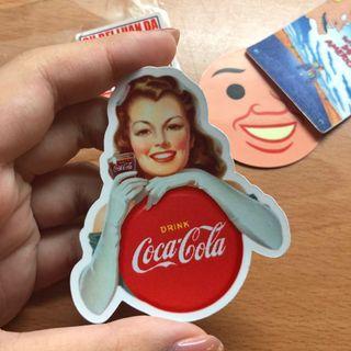 全新|可樂女郎 貼紙 耐磨 抗UV 防水