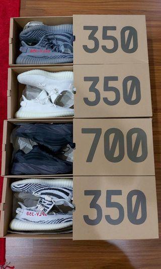 Adidas Yeezy Boost 350&700 zebra,cream-white,beluga 2.0,vanta
